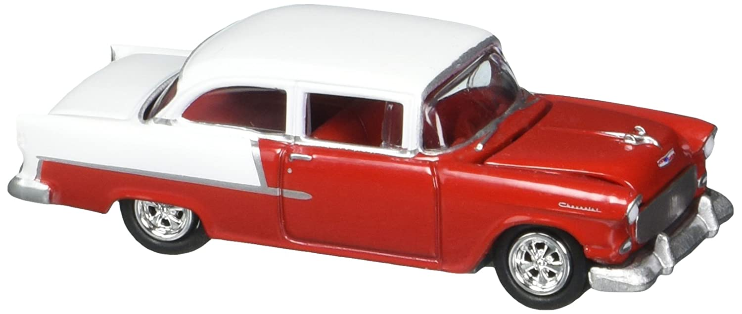 1955 Chevy 2-door sedan Johnny Lightning 1:64