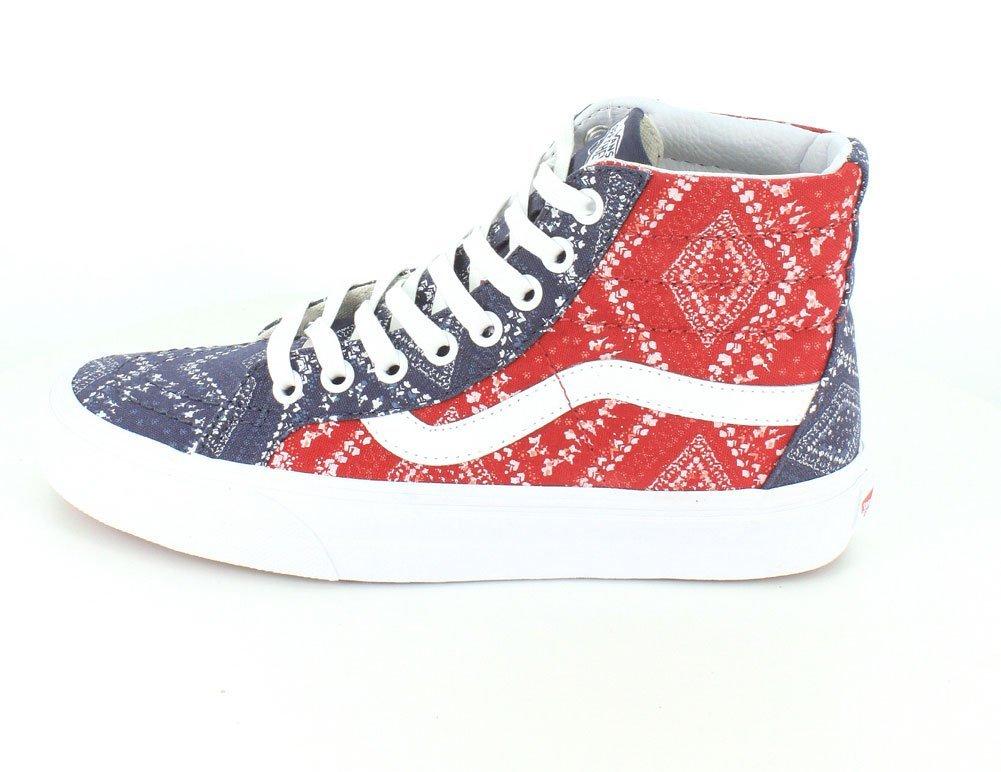 Vans Herren UA 47 Old Skool Sneaker, Grau, 47 UA EU (Ditsy Bandana) Chili Pep dadedd