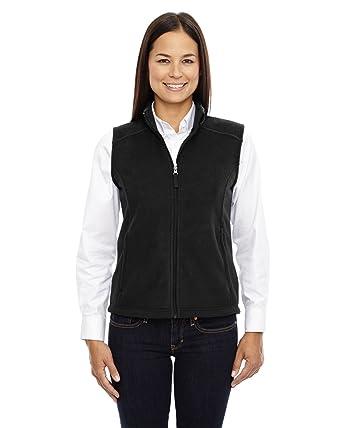 206161c67 Core 365 Journey Ladies Zipper Fleece Vest at Amazon Women's ...