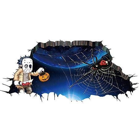 YWLINK Vinilo Decorativo Personalidad De Halloween Etiqueta De ...