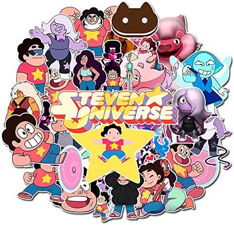 Steven Universe Cartoon Laptop Stickers