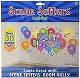amscan International Happy Birthday Scene Setter