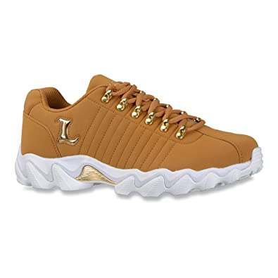 Lugz Men's Fortitude Cushion Tan Casual Sneakers ...