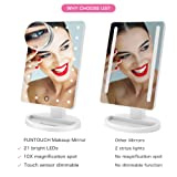 Makeup Vanity Mirror, FUNTOUCH Lighted Vanity