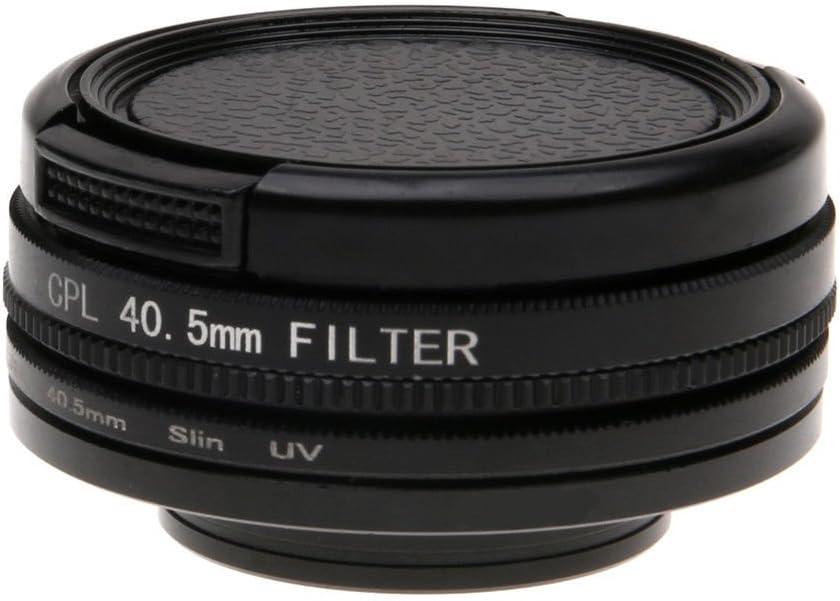 Zhhlinyuan UV CPL Lens Filter Set Kit Sport Camera Accessories for SJ7 Star 40.5MM