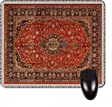 Red Persian/Oriental Rug-Mat- Square Mousepad - Stylish, durable office accessory and gift