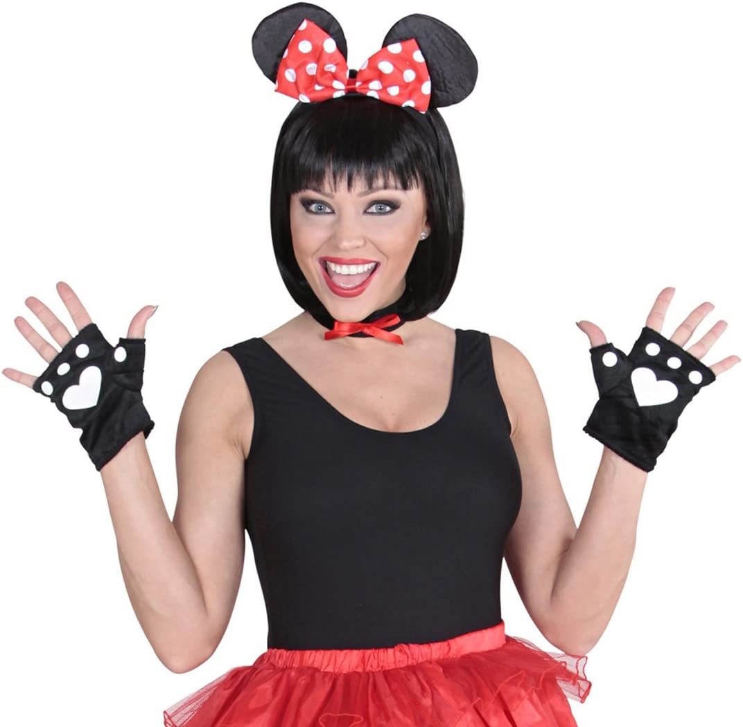 Disney Minnie Mouse Costume Set of 3 Pieces, Animal Costume, for ...