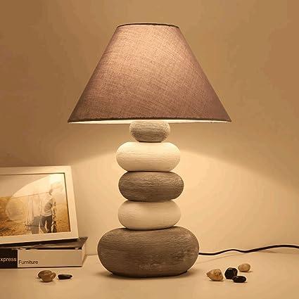 PIAOLING Lámpara de Mesa de cabecera de dormitorios Creativo ...