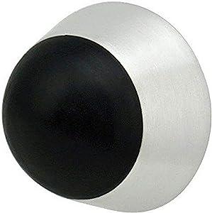 INOX DSIX07-32D Door Stop, Satin Stainless Steel
