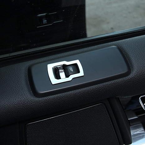 ABS Cubierta de botones de elevación de la ventana de plástico Accesorios de automóvil embellecedores de