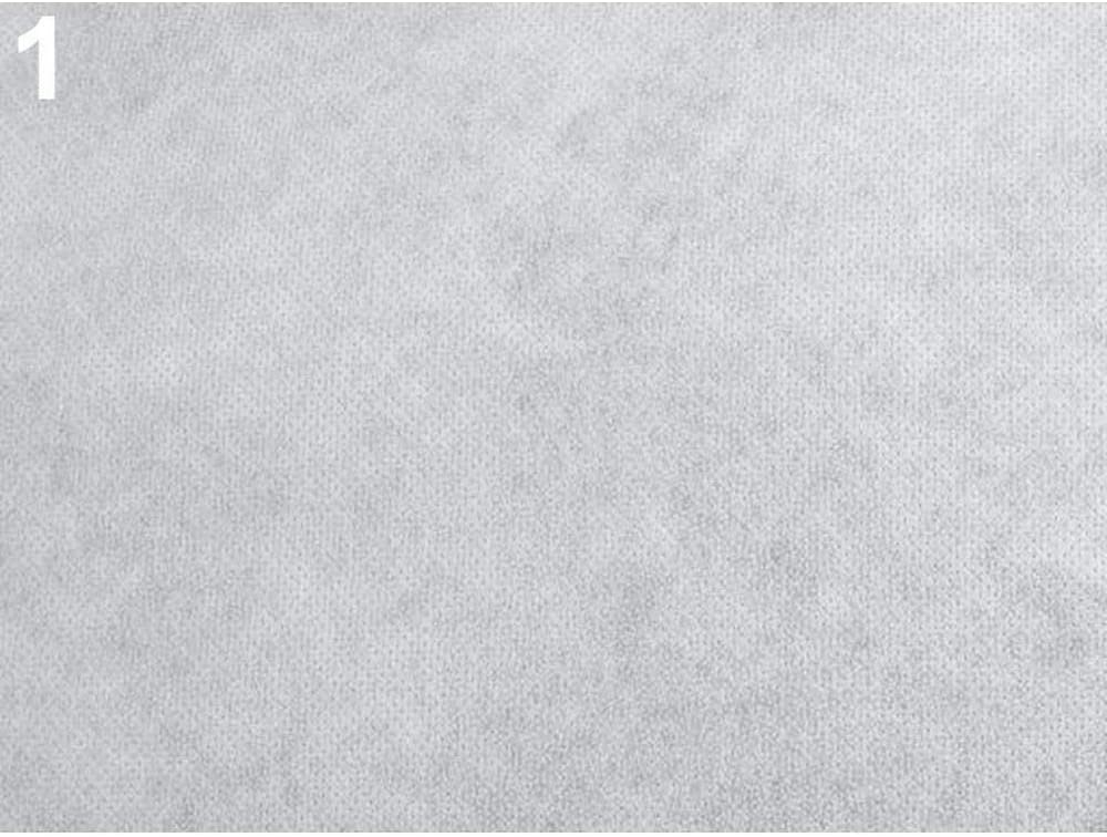 Bonding /& Stabilizers and Interlining 1m White Non-Woven Fusible Interfacing Novopast 60+18g//m/² Width 90cm Haberdashery