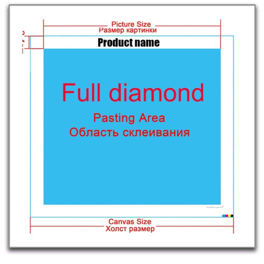 Plein forage RoundDiamond 5D DIY Diamant Peinture Belle petite fo Diamant Broderie Point De Croix Peinture Mosa/ïque-25x30cm