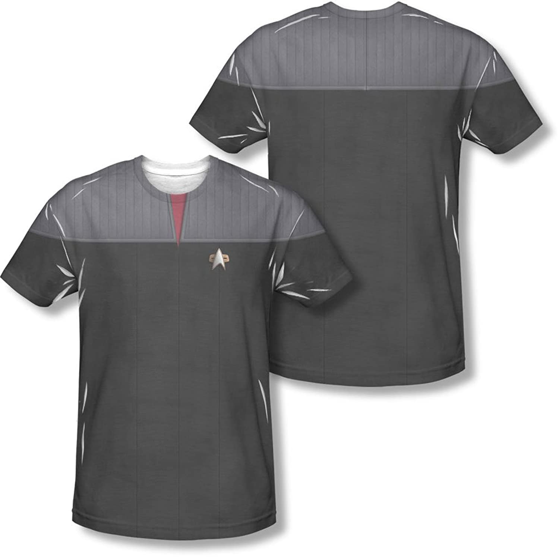 Star Trek - Mens Tng Movie Command Uniform (Front/Back Print) T-Shirt