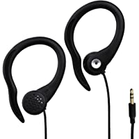"""Thomson Clip-on """"Sports"""" Earphones (3.55m  Jack)  Sweat and Water Proof and compatible with iPhone/iPad/iPod/MP3 Players/Samsung/Smartphone/"""