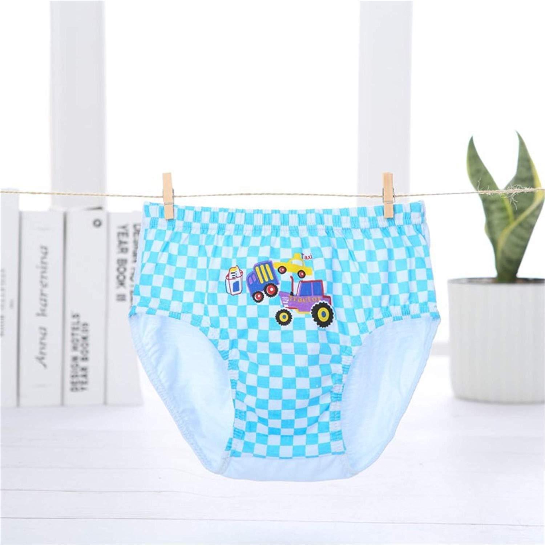 Ourfashion Kids Cotton Robot Briefs Underwear 5 Packs