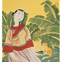 Oil Painting 'Hu Yongkai,A Woman And A Cat,21th Century' Printing On High Quality Polyster Canvas , 16x17 Inch / 41x44 Cm ,the Best Bedroom Decoration And Home Decor And Gifts Is This Amazing Art Decorative Prints On Canvas