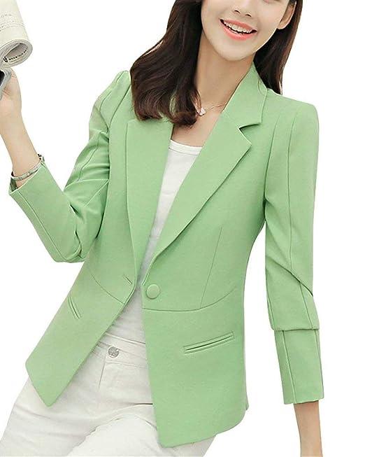 Mujer Americana Negocios Oficina Chaqueta Primavera Chic ...
