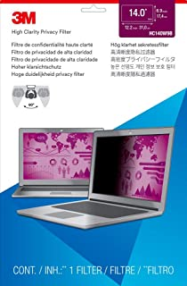 16:9 Black Prod Type: Monitors//Privacy /& Screen Protectors 3M Pf14.0W Privacy Filter For Widescreen Notebooks