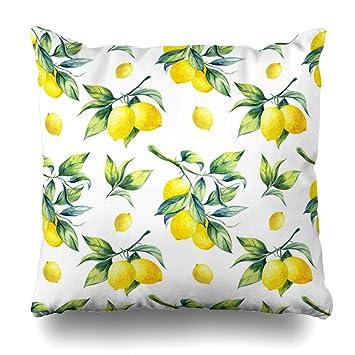 Amazon.com: Ahawoso - Funda de almohada decorativa con ...