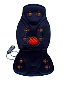 FIVE S FS8812 10-Motor Vibration Massage Seat Cushion with Heat