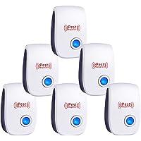 BBTWO Repelente Ultrasónico Mosquitos, 6 Pack Repelente Ultrasónico de Plagas Electrónico Repelente Mosquitos Control de…