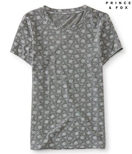 aeropostale-womens-floral-dot-crew-skinny-tee-shirt-2xl-medium-heather-grey