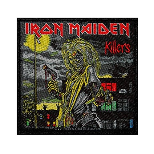 Iron Maiden Killers Patch Album Cover Art Heavy Metal Woven Sew On Applique by Mia_you