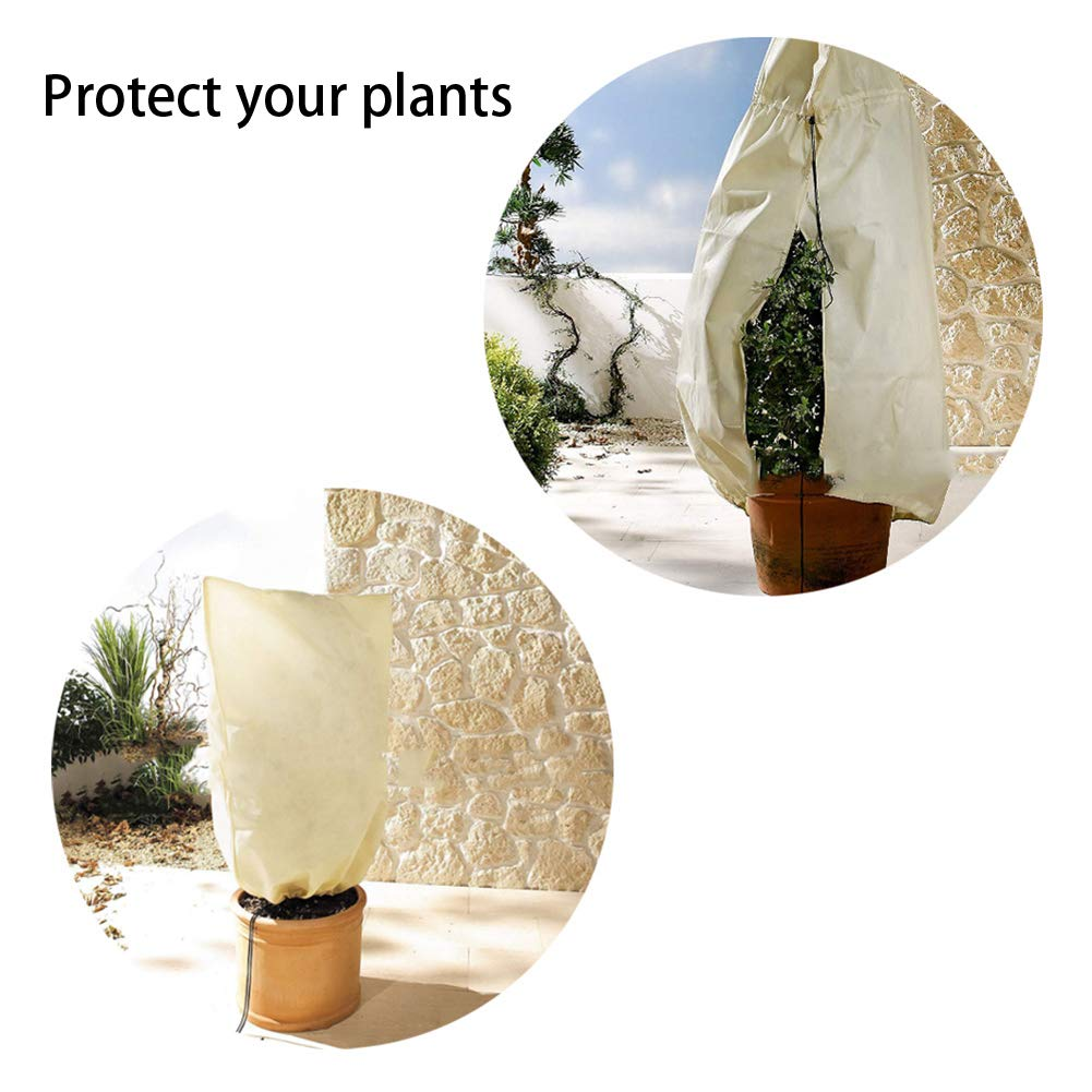 NZNNXN Tree Shrub Plant Protection Warm Cover Frost Protection Yard Garden Potted Plants Plant Covers