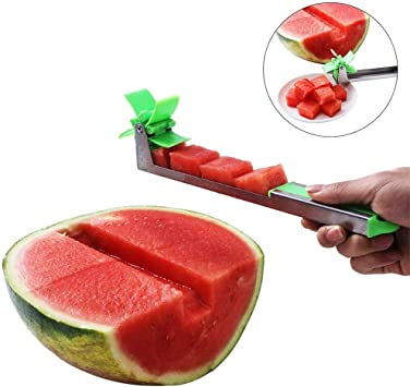 Wassermelonen Schneidemaschine Schneider Kantalupen Edelstahl Küchen Frucht