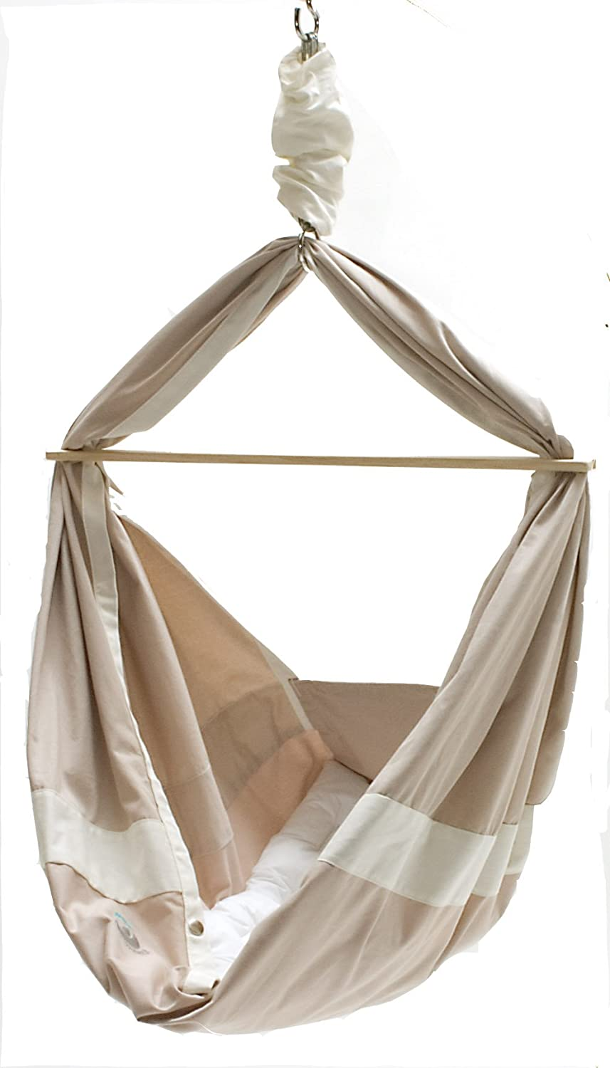 miyo baby hammock   sand and cream  amazon co uk  baby  rh   amazon co uk