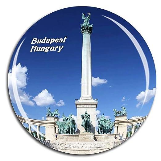 Weekino Plaza de los Héroes Budapest Hungría Imán de Nevera ...