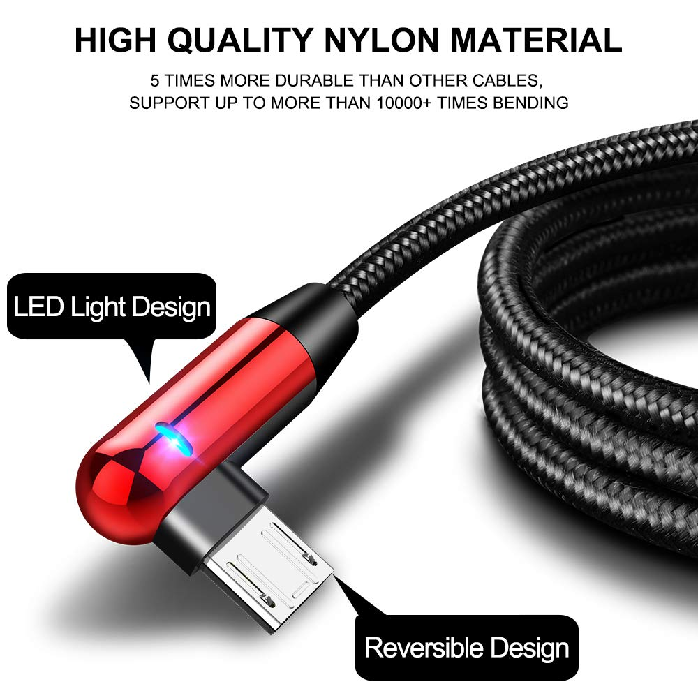 Mobile Phone Cables Mobile Phone Accessories Cafele Delicate Type C Usb Cable Led Charging Cable For Samsung Huawei Xiaomi Phones Durable Data Sync Cable 1.2m 2.1a