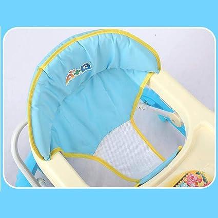 Niñito Andador de bebé, estándar-Rosa Carro (Color : Luxury ...