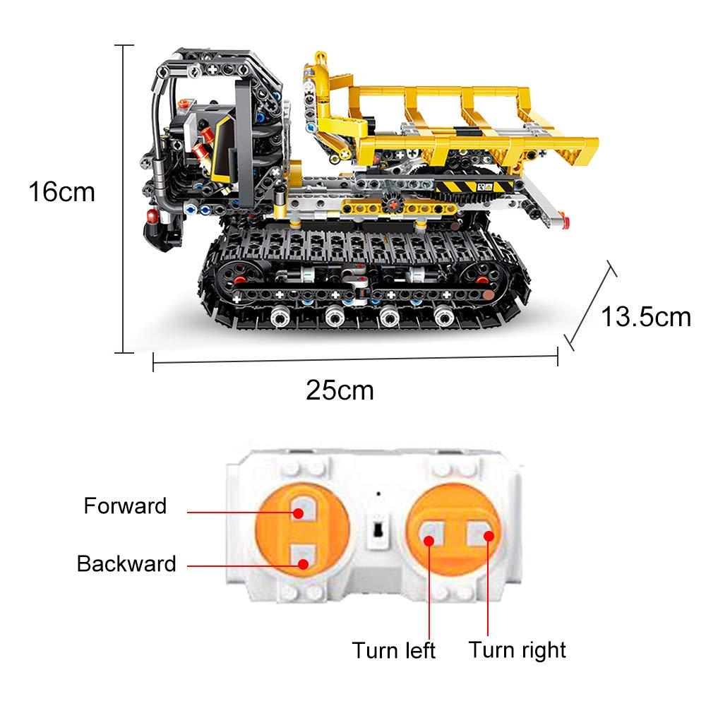 Cigooxm 774PCS Remote Control Building Blocks Car RC Track Building Blocks Educational Toys for Kids by Cigooxm (Image #2)