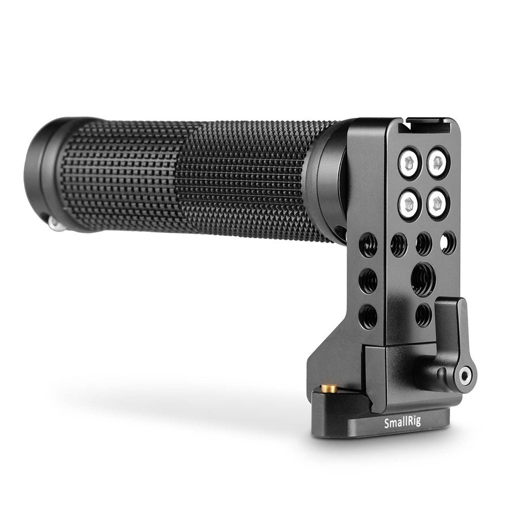 SmallRig QR NATO Handle (Rubber) with Safety Rail 2084 Quick Release Camera Handle Universal Hand Grip - 2084