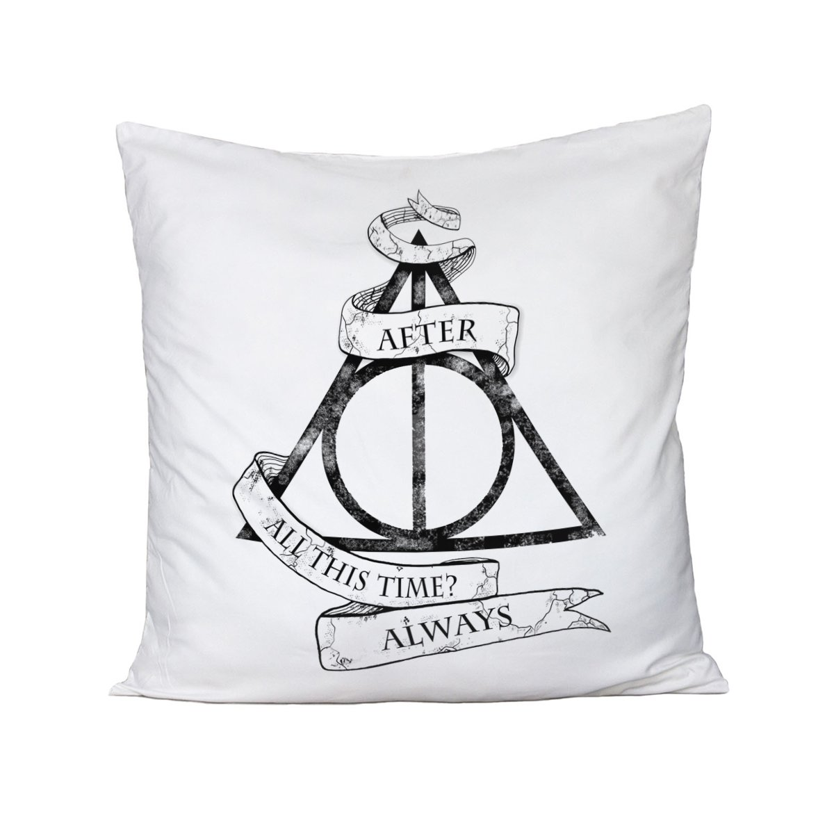 Cuscino Harry Potter - After all this time? Always - in cotone bubbleshirt