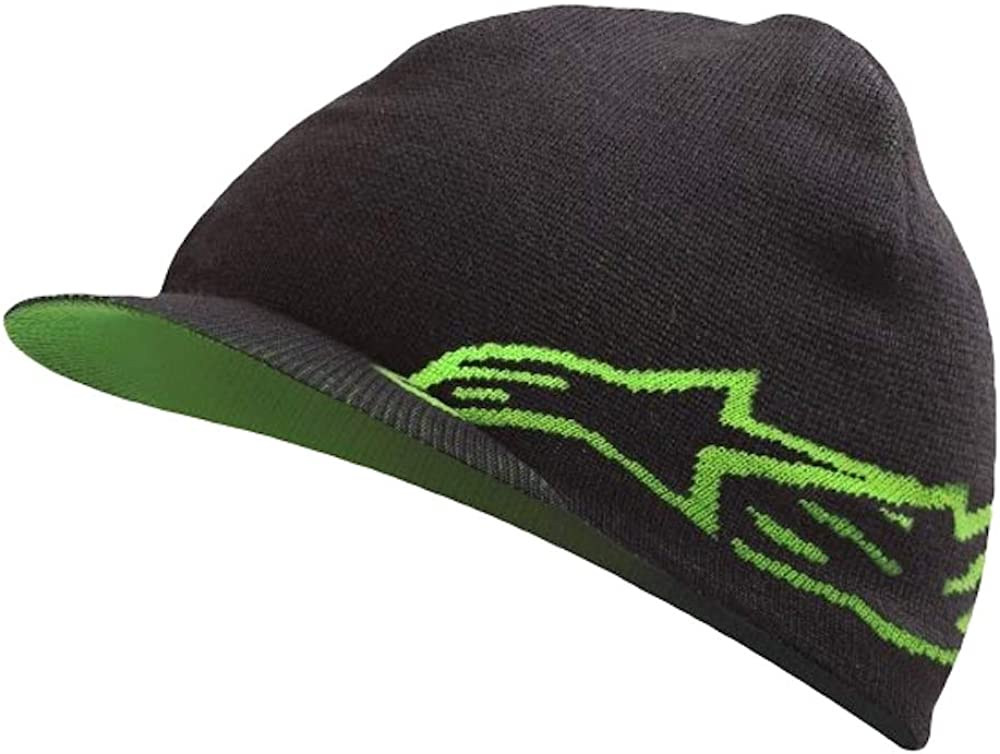 Alpinestars Racing Double-Up Reversible Mens Beanie One Size Black