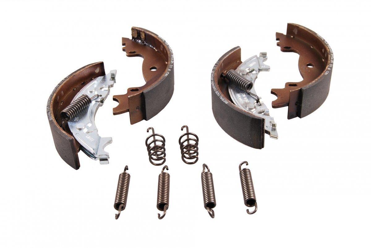Knott Bremsbelagsatz Bremsbel/äge Bremsbacken Satz 160x35mm f/ür Radbremse 16-1365