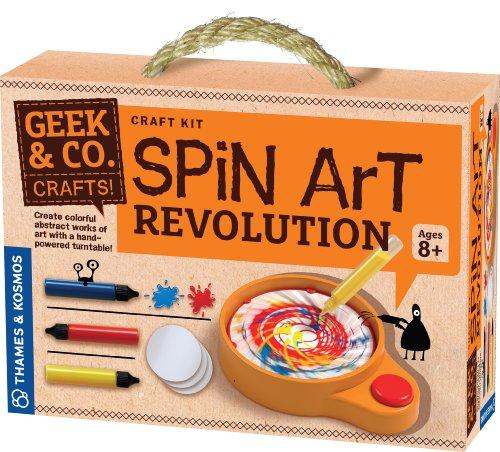 Spin Art Kit (Geek & Co. Craft Spin Art)