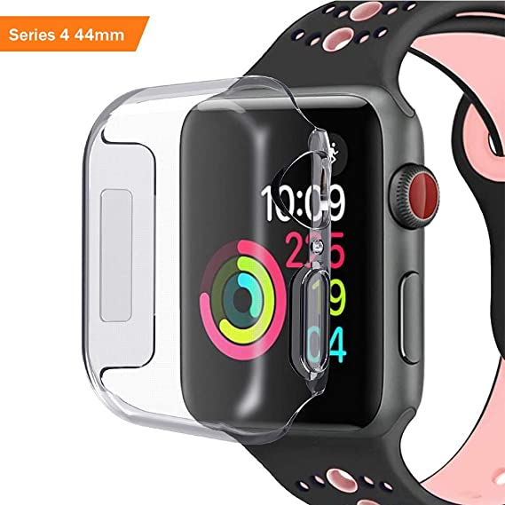 BATOP Apple Watch Screen Protector || iseebiz 2pcs Full Coverage case Cover for Apple Watch
