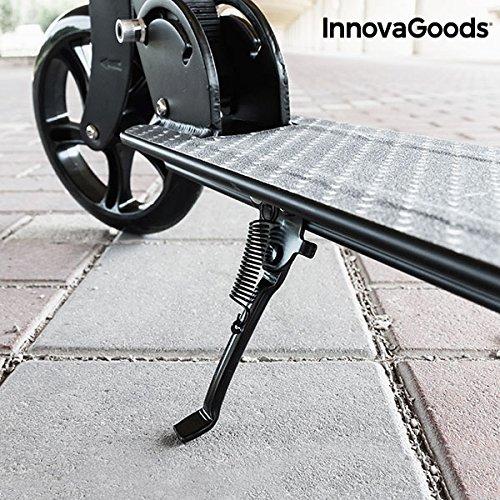 InnovaGoods IG115984 Patinete Plegable, Unisex Adulto, Negro, Talla Única: Amazon.es: Deportes y aire libre