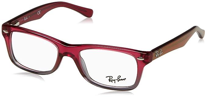 7cc4d15cd4 Ray-Ban 0RY 1531 3648 46 Monturas de gafas, Fuxia Gradient Iridescent Grey,  Unisex-niños: Amazon.es: Ropa y accesorios