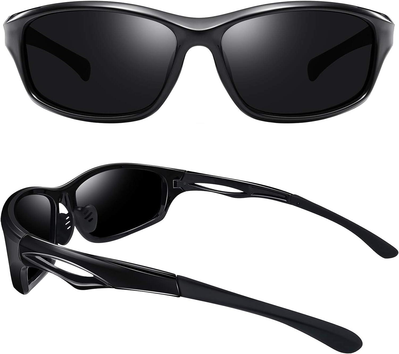 Joopin Polarized Sport Sunglasses for Men Women UV400 Sports Sun Glasses Shades
