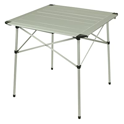 10T aluTAB Light Table camping Argent 70 x 70 x 70 cm