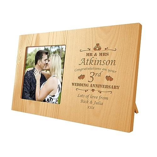3rd Wedding Anniversary Gift: Third Wedding Anniversary Gifts: Amazon.co.uk