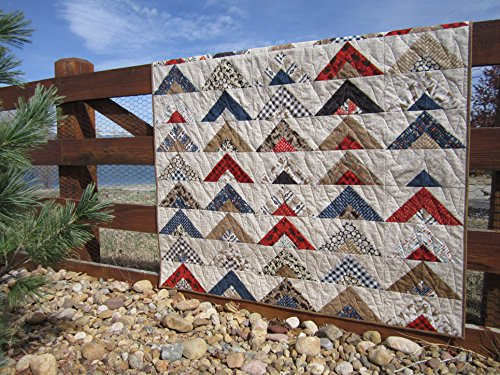 Handmade Quilt, Patchwork Quilt, Cabin Quilt, Mountain Quilt