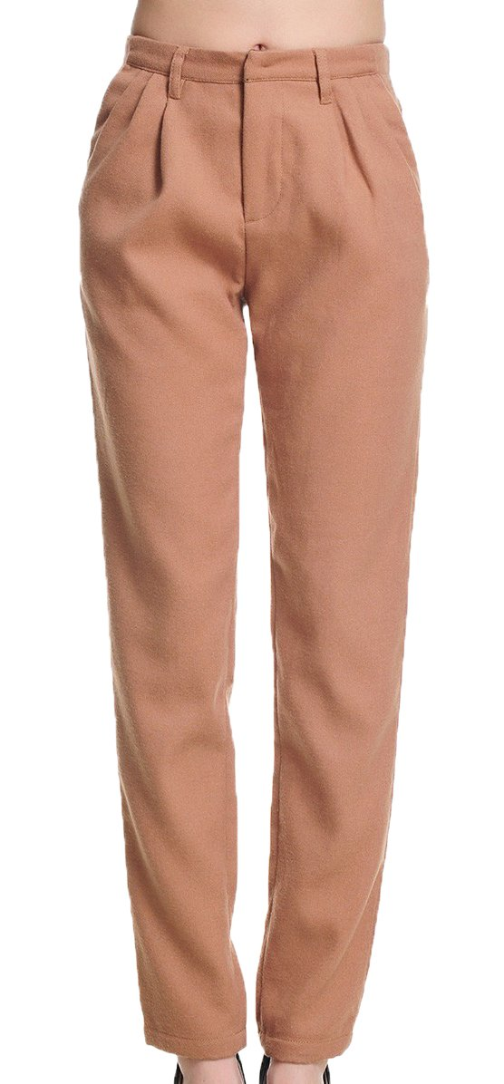 Generic Women's Spring Loosing-style Trousers 30 Pink by Generic