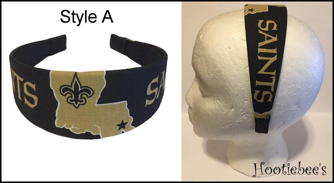 New Orleans Saints Headband - Style A Christmas gift ideas 2018 a9bbea00ce8