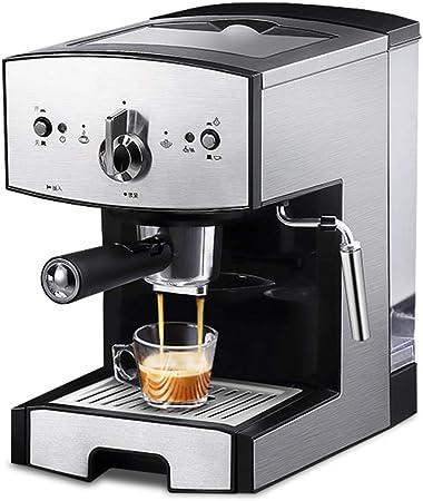 Cafetera Espresso 20 Bares, para café en Polvo y cápsulas Nespresso,Cafetera Cappuccino y Latte 1050W Boquilla de Espuma de Leche 1.5 L Tanque: Amazon.es: Hogar
