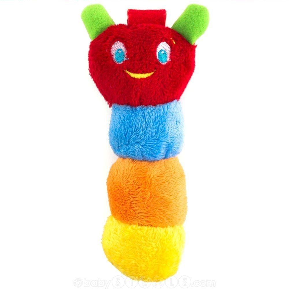 Amazon.com : Bebé Chupete Titular de juguete de felpa ...
